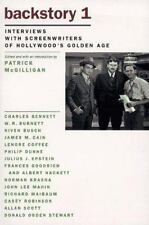 Backstory 1: Interviews with Screenwriters of Hollywood's Golden Age-ExLibrary