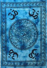 Om Chakra Design Indian Tapestry Wall Hanging Tapestry Poster Indian Cotton Cute