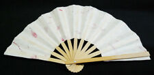 Paper & Wood Collapsible Hand Fan