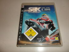 PLAYSTATION 3 PS 3 sbk08 Superbike World Championship