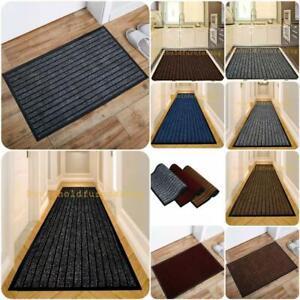 Rubber Backed Door Mat Non Slip Rug Kitchen Mat Heavy Duty Runner Outdoor Indoor