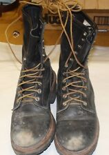 RED WING 699 WILDLAND FIREFIGHTING BOOTS MENS SIZE 7.5 D FREE SHIPPING