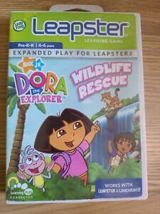Dora The Explorer Wildlife Rescue Game For Leapfrog Leapster Used
