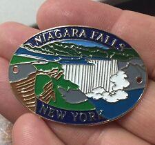 Niagara Falls  walking Hiking Medallion NEW staff  New York Canada