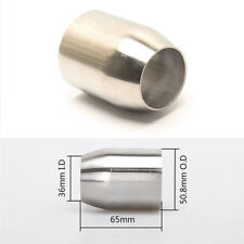 Motorcycle Exhaust Muffler Adapter Pipe 51MM Connecting Tube Welding Head