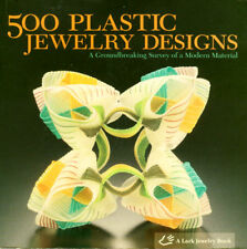 500 Plastic Art Jewelry Designs Pins Pendants Rings Necklaces Floral Bracelets
