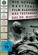 DVD NEU/OVP - Das Testament des Dr. Mabuse (Fritz Lang) - Rudolf Klein-Rogge