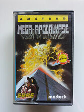 MEGA-APOCALYPSE - AMSTRAD CPC 464 CASSETTE / MARTECH - ERBE SERIE LEYENDA