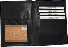 New leather Passport cover, Int'l Unbranded Credit card ID passport case wallet*