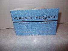 Men Versace MAN Eau Fraiche  Eau De Toilette 2 x 1.0ml Spray New Release