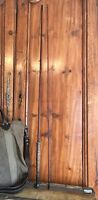 Vintage 2pc Glass Fly Rod 8' Fly Fishing Rod