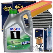 FILTERSET SATZ PAKET+MOBIL 5W30 ÖL 2.0 TDI AUDI A4 B8 A5 8T Q5 8R 120-177 PS