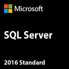 SQL Server 2016 Standard 20 Cores Unlimited CAL License Key/ 30 Sec Delivery