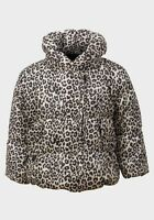 Baby Girls Leopard Winter Padded Jacket Coat Age 0-3 3-6 6-9 9-12 12-18 18-24