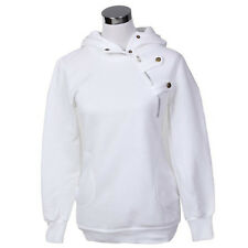 Womens Casual Hoodie Sweatshirt Long Sleeve Hooded Pullover Jumpers Top Outwear