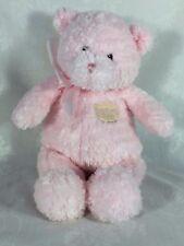 """Gund Baby My First Teddy Bear Pink Plush Stuffed Animal 58617 Sewn Eyes 13"""""""