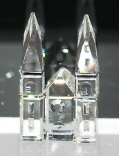 Swarovski Figurine Silver Crystal City Cathedral 157858 with Packaging