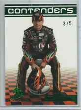 2009 JEFF GORDON #24 PRESS PASS PREMIUM EBAY PREVIEW CARD #3/5 - GREEN FOIL
