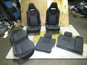 2011 Subaru Impreza Wrx Front Seats SRS Rear Seats WRX 08-11