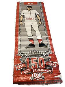 MLB Authenticated - Cincinnati Reds Street Banner Honoring 1935 Team