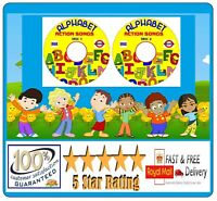 Alphabet  Childrens singalong Learn the Alphabet Action Songs CD  Audio