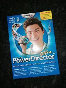 Cyberlink Powerdirector Ultra V7 Video Editor