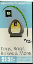 Provo Craft Cricut Shapes Cartridge-Tags, Bags, Boxes & More