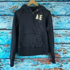 American Eagle Hoodie Size XS Blue Womens  Zip Up