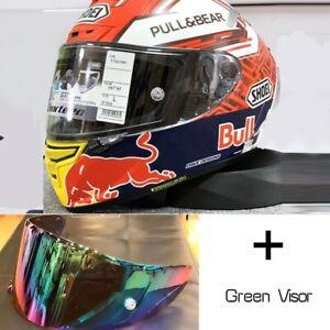 SHOEI Red Bull Helmet Mote GP X14 X-Spirit 3 Motorcycle Full Face Marc Marquez 3