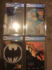 Batman the dark knight returns CGC (9.8,9.6) 1-4 1st print
