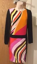 Emilio Pucci Multicolour Geometric Tunic Dress Size UK 10 RRP £1025
