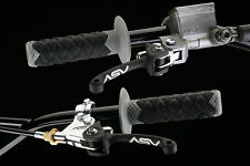 ASV C/5 Brake/Clutch Levers SET KTM 125 SX / 250 SX (1998-2008) C5 Shorty Black