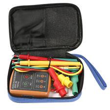 SM-852B 3 Phase 60V~600V AC Sequence Order Rotation Indicator Tester Check 400Hz