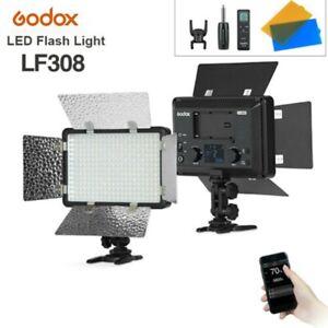 Godox LF308D LED Flash Light 2.4G 5600K LED Continued Lamp Studio Photo Lighting