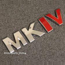 Bota De Tronco Portón Trasero MKIV EMBLEM BADGE DECAL STICKER MK4 Mark 4 Logotipo VW *