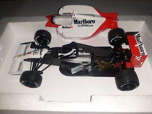 1/18 TSM Marlboro McLaren Honda MP4/6 V12 SENNA🇧🇷 1991 WorldChamp🏆 Japan GP🏁