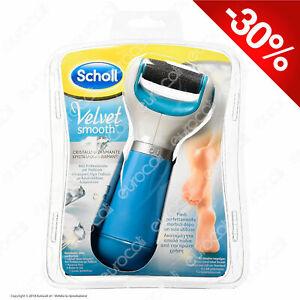 Scholl Velvet Soft Smooth Roll Professionale Pedicure Elettrico Calli Cura Piedi