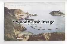 f0461 - Ferry in St Cruex Harbour , Sark - postcard