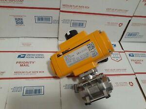 El-o-matic F0040U Pneumatic Valve Actuator 120psi Max