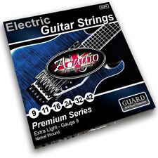AntiRust Electric Guitar Strings 5x Packs Bulk Buy Adagio Pro 9-42 + FREE Chart