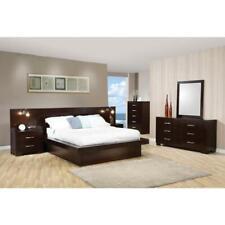 Coasters Furniture Jessica Queen Platform 7 Piece Bedroom Set