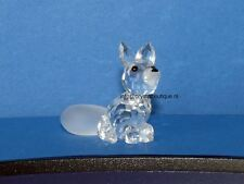 swarovski kleine zittende vos, mini sitting fox