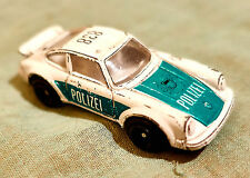 Modellauto,Welly,Polizeifahrzeug.-L 6,5 cm,B 3 cm,H 2,2 cm