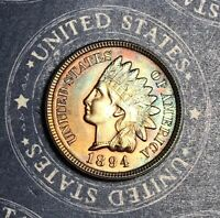 1894 INDIAN HEAD COPPER CENT COLLECTOR COIN FOR YOUR COLLECTION.