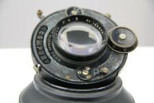 """Ross 5 1/4"""" f4.5 Anastigmat lens in Compur shutter, working."""