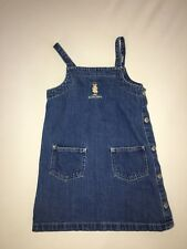 Ralph Lauren Bear Jean Dress Girls Size 4T