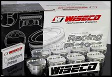 SBC CHEVY 350 WISECO FORGED PISTONS & RINGS .4030 +4cc DOME USE 5.7 ROD KP420A3