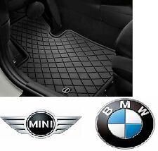 MINI Genuine All Weather Floor Mats Black Design Front Set F55 F56 51472354156