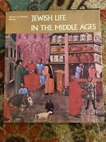 Jewish Life In The Middle Ages 1982 Therese & Mendel Metzger