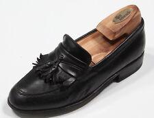 * BALLY * Black 'Sarnico' Tassel Dress Loafers US 6.5 D